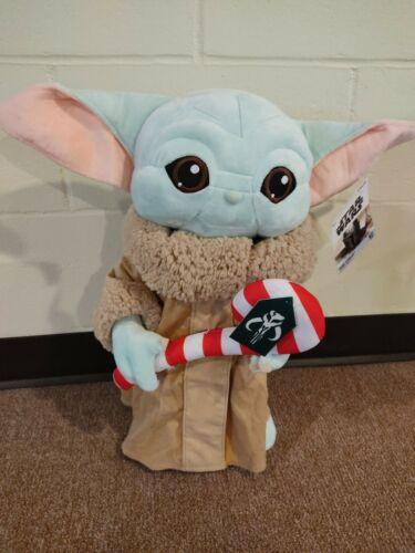 "Star Wars Mandalorian 19"" Child Baby YODA Christmas Holiday Greeter Disney"