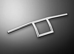 1-INCH-25mm-Square-Chrome-Handlebars-T-Bar-Style-for-Custom-Motorcycles-55-222