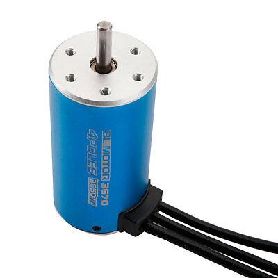 3670 2650KV 4Poles Sensorless Brushless 1600W 86A  Motor for 1/8 RC Car