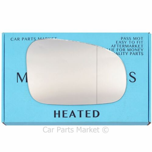 Right Driver side Wide Angle Wing mirror glass for Toyota Verso-S 2010-13 heated