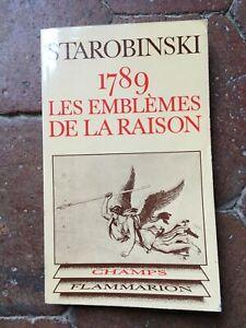 Jean Starobinski 1789 Las Problemas de La Due Col. Campo Flammarion 1979