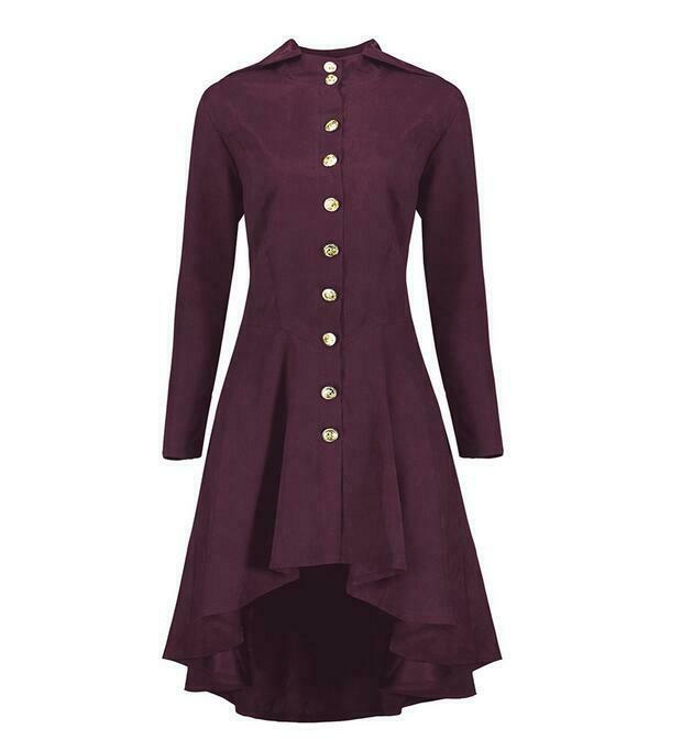 Fashion Spring Spring Spring Ladies Coats Single-breasted Long Sleeve Cotton Blend Bowknot 4586fa