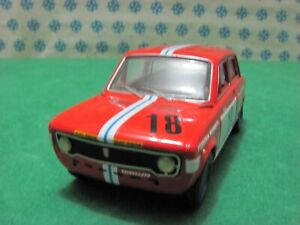 Vintage - Fiat 128 Rally Traitement Artisanale - Made IN Italy