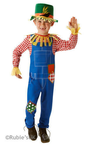 Mr Scarecrow Boys Fancy Dress Wizard of Oz Book Week Day Kids Childs Costume New