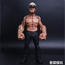 HeadPlay 1/6 Scale Popeye the Sailor Tattoo Edition Collectible Statue Model