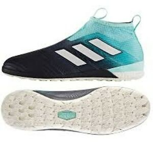 4a459d57ed89 adidas ACE Tango 17+ Purecontrol Indoor Sizes 6-6.5 Blue RRP £160 ...