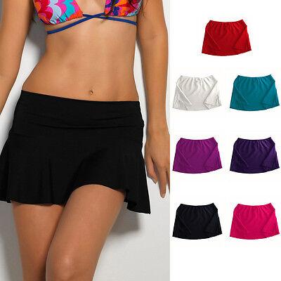 Hot Summer Bikini Bottom Tankini Swim Short Skirt Swimwear Cover Up Beach Dress