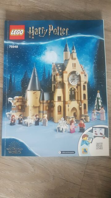 LEGO Harry Potter Hogwarts Clock Tower Set #75948 INSTRUCTION MANUAL ONLY!