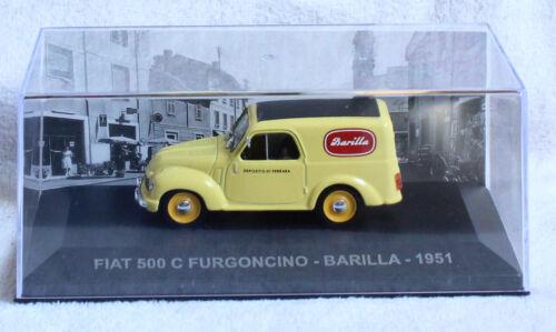 Fiat 500 C furgoncino Transporter Barilla 1951 1:43 Ixo//ALT maqueta de coche