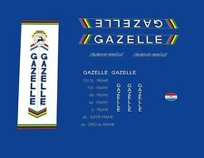 Gazelle Champion Mondial Bicycle Decals, Transfers, Stickers #34
