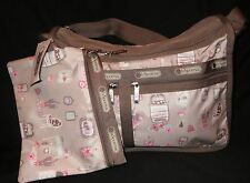 LeSportsac 7507 DeLuxe Everyday Bag Powder Room NWT