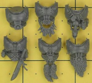 Warhammer 40K Space Marines Space Wolves Wolf Pack torse fronts  </span>