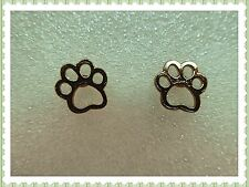 Beautiful Cute Paw Prints Stud Earrings,Adorable,Pierced,Dog,Cat,Gift Idea