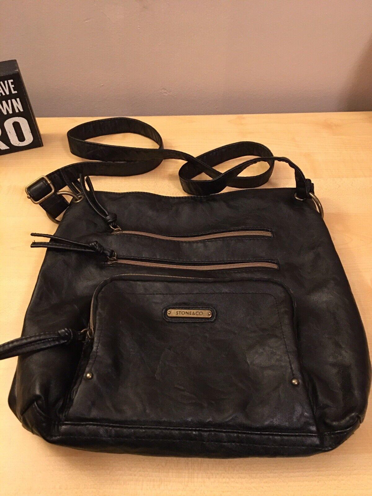 Stone & Co Black Handbag