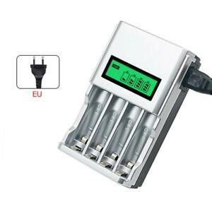 Akku-Batterie-Aufladegeraet-LCD-Ladegeraet-fuer-4-AA-AAA-Schnelladegeraet-DE