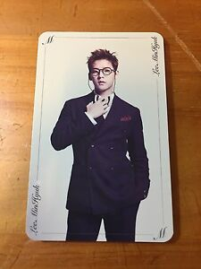 BTOB 10th Mini Album Feel'eM Movie Minhyuk PhotoCard Official K-POP
