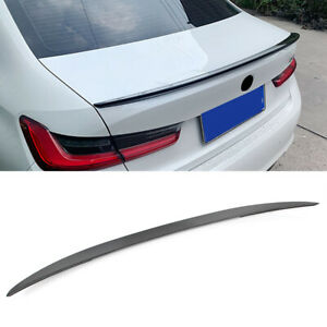 For-BMW-2020-3-series-G20-ABS-Gloss-black-Rear-Tail-Trunk-Spoiler-Wing-Lip-Trim