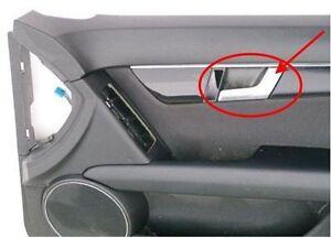 For Mercedes W204 C300 1pc Car Chrome Interior Door Handle Repair
