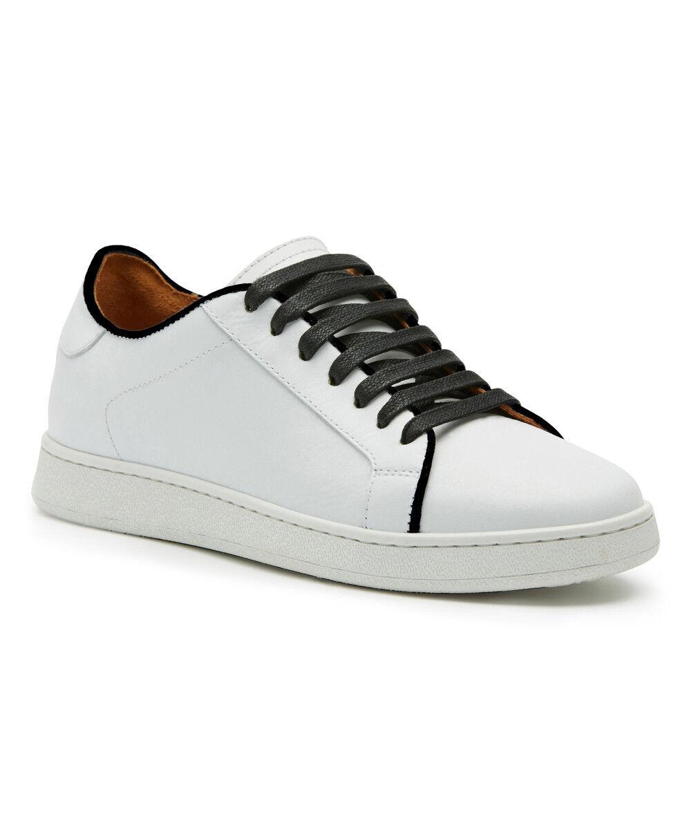258 NEU Frye  Alexis Low Lace Up WEISS Leder Sneaker Schuhe sz 9M Made in