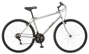 Pacific Bryson Bicycle 700C Men's Hybrid Silver