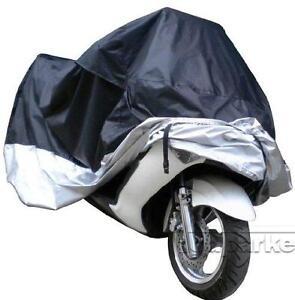 L Black Waterproof Motorcycle Cover Bag Fit Yamaha YZF R1 R6S Ninja ZX 6R 7R 9R