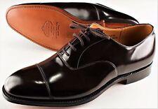 NWB CHURCH'S CONSUL 173 OXFORD shoes calf Ebony Goodyear 105 US 11.5 EU 44,5