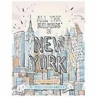 All the Buildings in New York : That I've Drawn So Far by James Gulliver Hancock (2013, Hardcover)