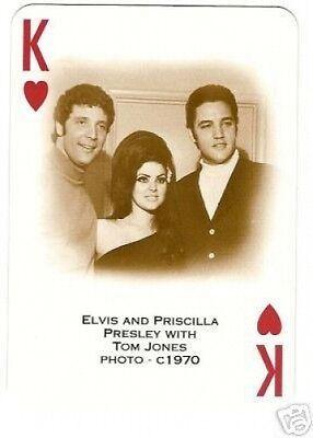Elvis Priscilla Presley and Tom Jones POSTER