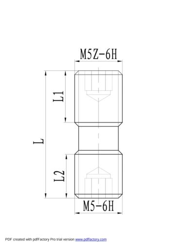 XNS-0520 CLAMP SCREW FOR INDEXABLE TOOL HOLDERS 2100-0001