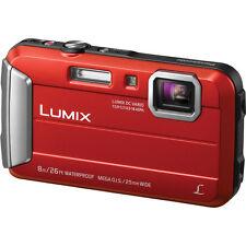"Panasonic Lumix DMC-TS30 Digital Camera (Red) w/ 16.1MP & 2.7"" LCD Screen -NEW!!"