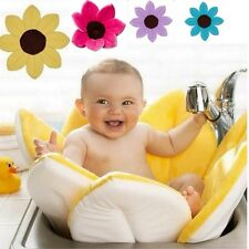 Flower Bath Tub For Baby, Blooming Sink Bath Flower Mat-YELLOW UK Based