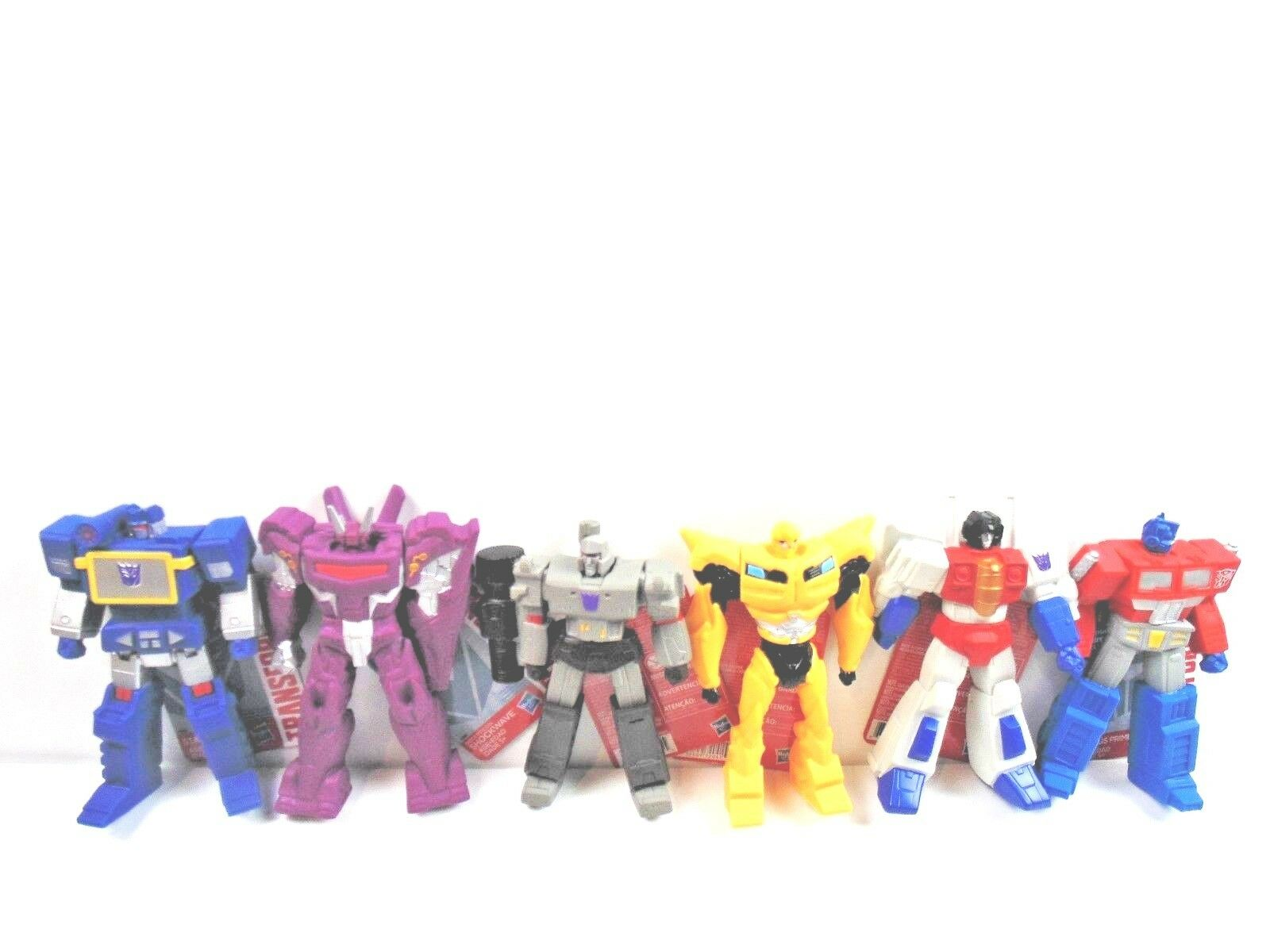 Transformers 6 inch figures PVC Wal Mart Exclusive Set of 6