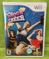 Dream Dance & Cheer (nintendo Wii, 2009) Brand Sealed