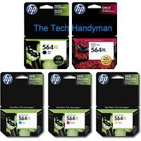 5-pack Hp Genuine 564xl Black & Color Ink (no Retail Box) Photosmart Premium
