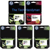 5-pack Hp Genuine 564xl Black & Color Ink (no Retail Box) Photosmart Premium