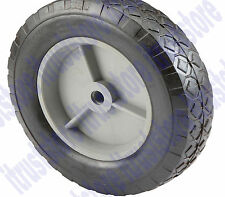 8 Inch Solid Hard Rubber Replacement Tire Wheel Rim Hub Dolly Hand Cart