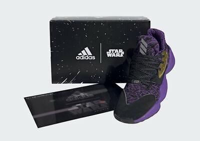 adidas Harden Vol.4 Star Wars EH2456 Lightsaber Purple Gold Black Size 7 7.5 | eBay