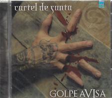 CD -  Cartel De Santa NEW Golpe Avisa ORIGINAL - FAST SHIPPING !