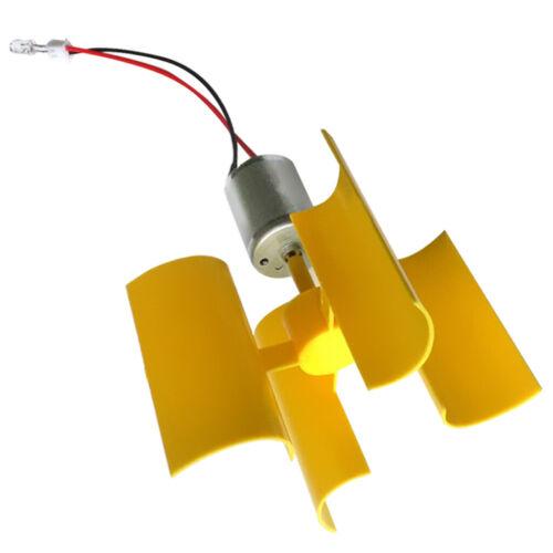 5pcs 8V 1W Mini Wind Generator Intelligence Toy Turbine Wind Generator Motor