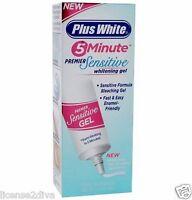 Plus White Teeth Whitener For Sensitive Teeth 5 Minutes Works Free Ship