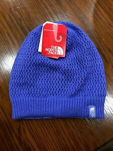 89308e3f70f The North Face Girls Reversible Shinsky Beanie Starry Purple Hat NWT ...