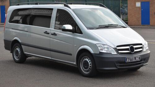 2010-14 ALA SPECCHIO CROMATA SET trim copre per adattarsi MERCEDES-BENZ VITO W639