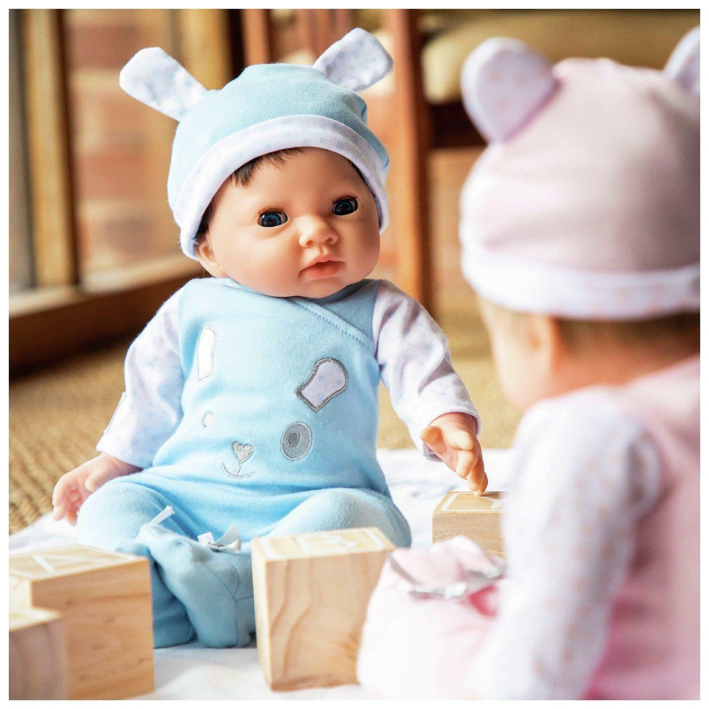Chad Vtuttiey PICCOLI TESORI Bambola con vestito blu e  Cappello Bambino Giocattolo Regalo Set Nuovo  consegna lampo