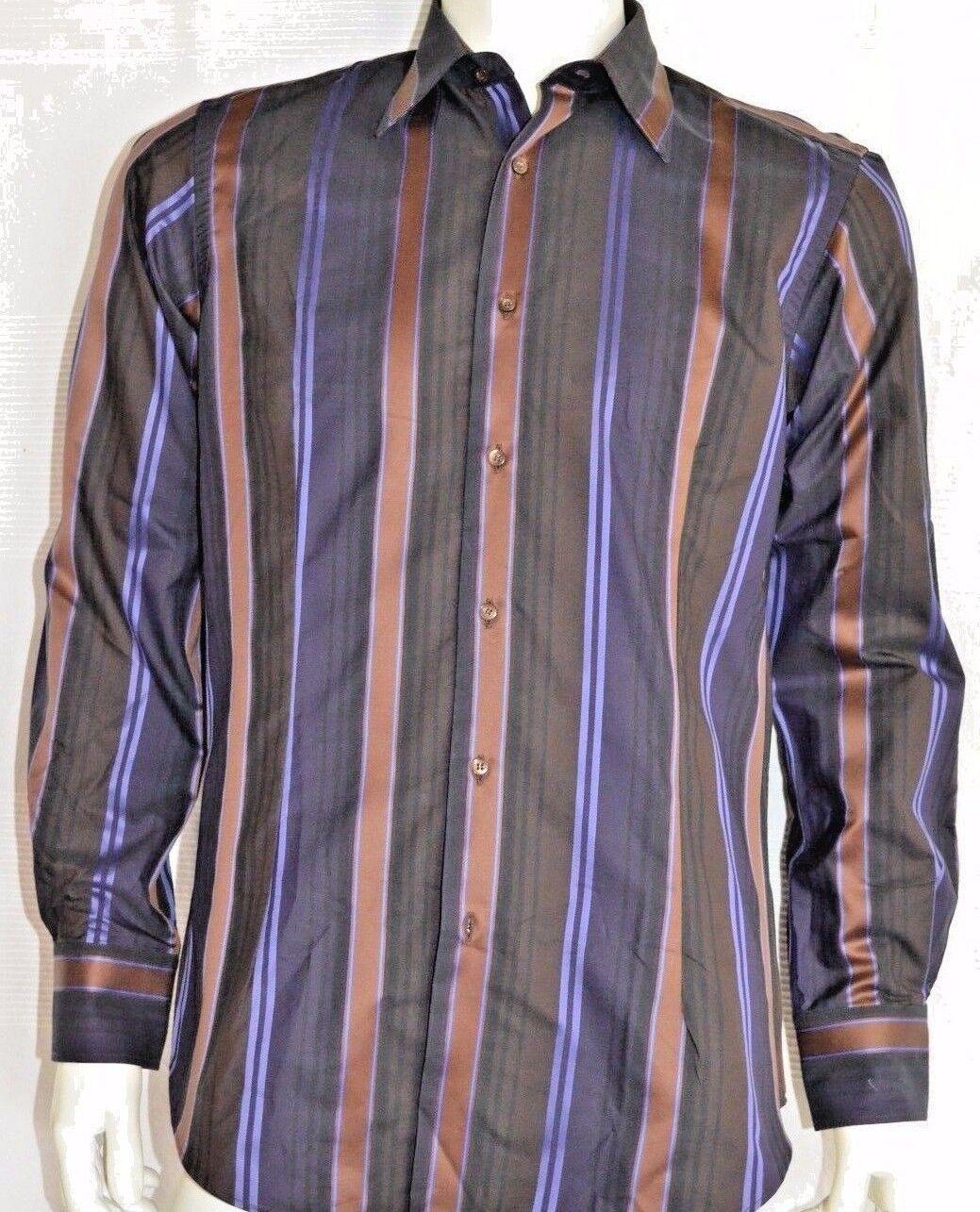 NEU   ETRO MILANO chemise COUTURE Hemd mens shirt 39 neu  NEW Baumwolle