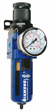 "Thorite 1/4"" BSP Compressed Air Filter Regulator with Gauge FR204G"