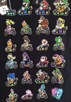 Super Mario Brothers 2xl Short Sleeve T-shirt Vintage Nintendo Mario Cart