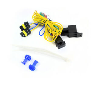 details about fog lights lamps wiring harness kit w 9006 connector for vw golf jetta passat cc  wiring up fog lights #15