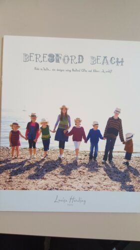 Louisa Harding Knitting Pattern Book Beresford Beach 8 Family Projects