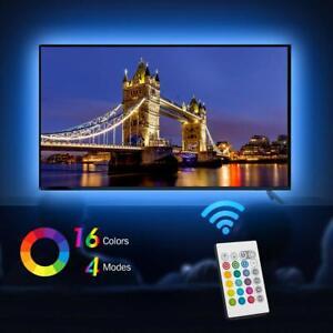 Striscia-LED-auto-adesiva-USB-per-smart-TV-televisione-cucina-soffitto