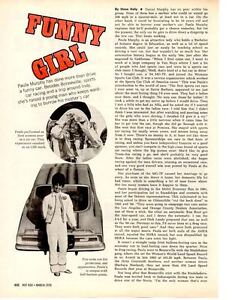 1970-PAULA-MURPHY-RACE-CAR-DRIVER-ORIGINAL-3-PAGE-ARTICLE